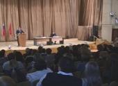 Губернатор Волгоградской области посетил госпиталь ветеранов