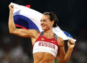 Елена Исинбаева – лучшая спортсменка России 2013 года