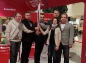 В Волгограде открылась выставка, посвященная олимпийским факелоносцам