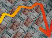 Финансовый  Новый год начался с падения рубля