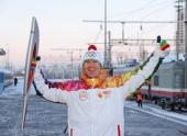 Эстафета олимпийского огня в Волгограде
