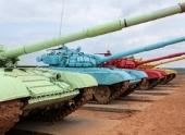 Мотострелковые бригады Волгоградской области готовятся к танковому биатлону