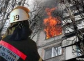 Пожар в Волгограде — горела пятиэтажка по проспекту Канатчиков