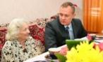 Волгоградцы поздравили Валентину Быстрову с 100-летним юбилеем