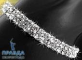 Браслеты и кольца с кристаллами Сваровски