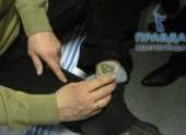 У жителя Камышина нашили марихуану в носке