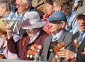 В Волгоградском параде приняло участие 10 000 человек