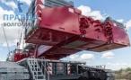 Сборка гигантского крана заканчивается на стадионе «Волгоград Арена»