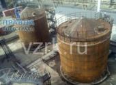 Вертикальные резервуары: назначение и производство