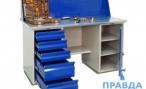 Качественная оптимизация работы складского и рабочего помещения. Металлические верстаки
