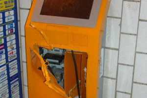 В Урюпинске Волгоградской области подростки взломали платежный терминал