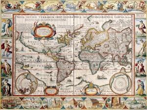 карта колумба