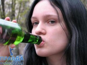 пьянство в детстве