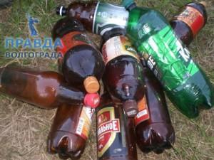 собирать бутылки